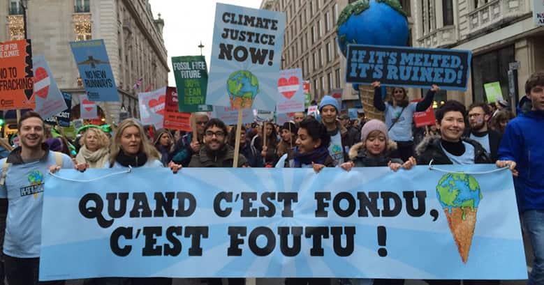 La marche mondiale pour le climat rassemble 175 pays à travers 2000 actions pour le climat