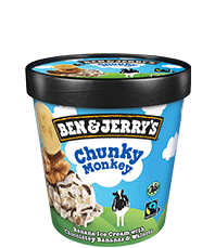 Chunky Monkey Original Ice Cream Pots