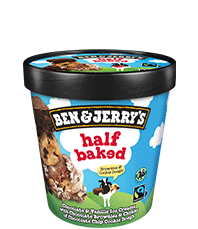 Half Baked Original Ice Cream Pots