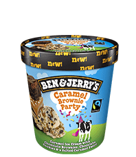 Caramel Brownie Party Original Ice Cream