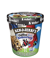 Ben & Jerry's Coffee for Democracy