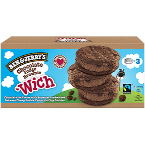 Chocolate Fudge Brownie 'Wich Multipack Ice Cream Bar