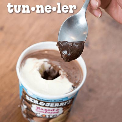 Ben & Jerry's – Le creuseur de tunnel