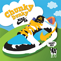 Nike SB lance les baskets Ben & Jerry's Chunky Dunky
