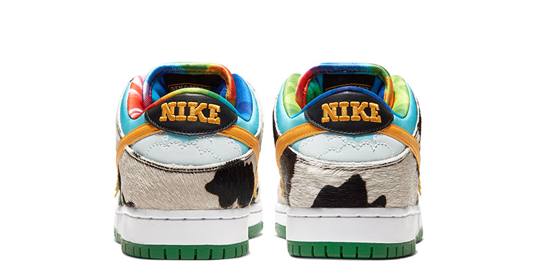 Back view of the Nike Chunky Dunky shoes